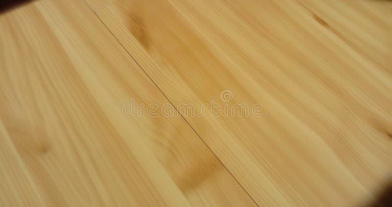 布朗层压制品的地板背景 库存照片