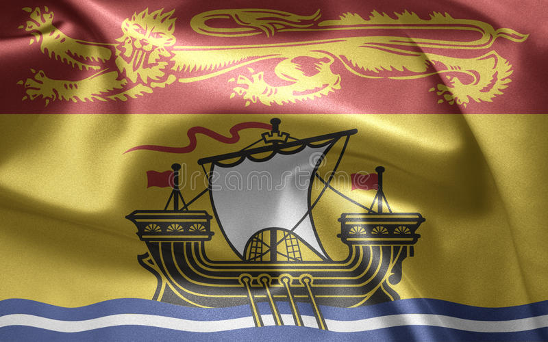 布朗斯维克新的加拿大 免版税库存照片