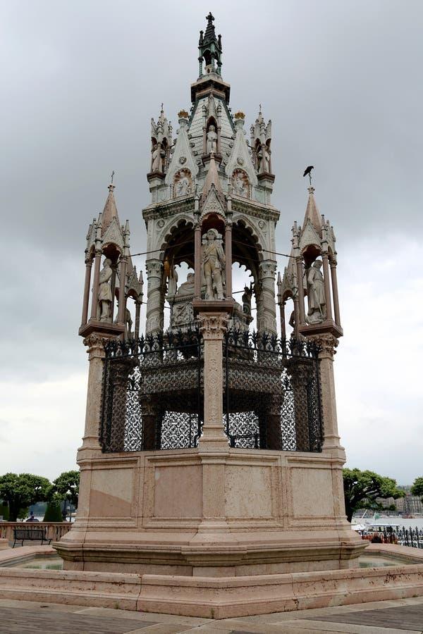 布朗斯维克公爵的陵墓 库存图片