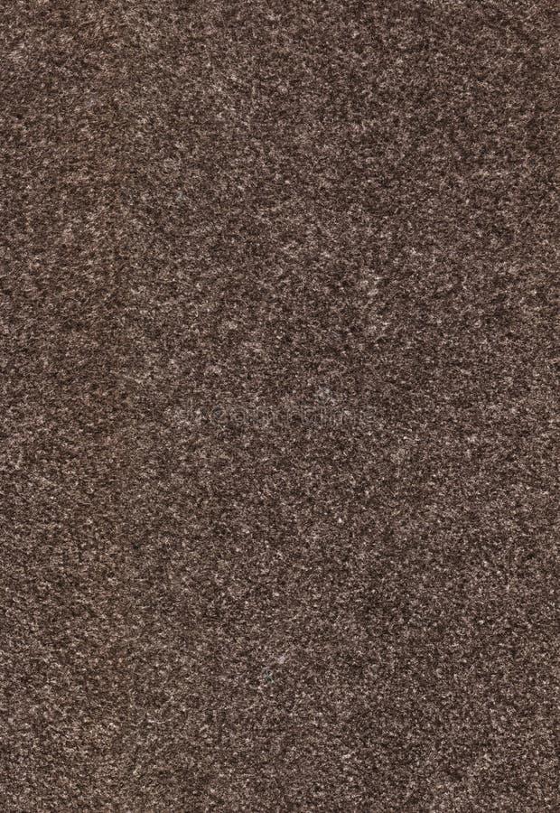 布朗无缝的毛毡纹理 免版税图库摄影