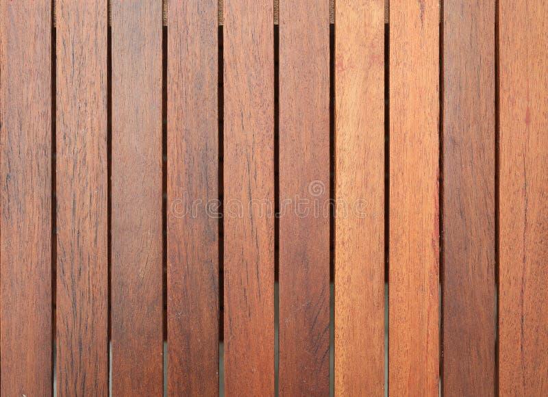 布朗木板条纹理背景 免版税库存图片