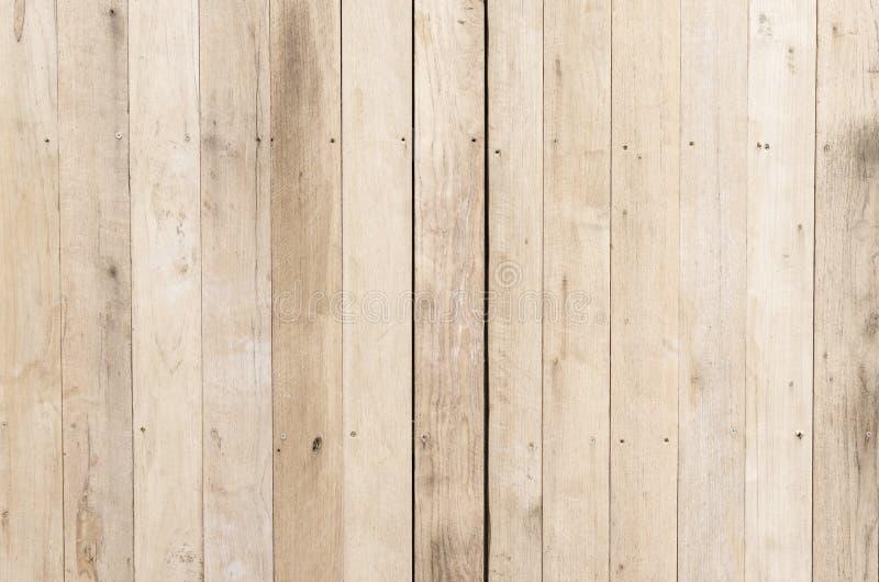 布朗木板条纹理背景 库存图片