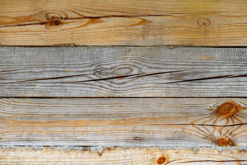 布朗木板背景,纹理 图库摄影