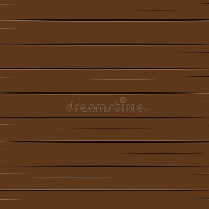 布朗木纹理背景传染媒介例证 结构和材料概念 向量例证
