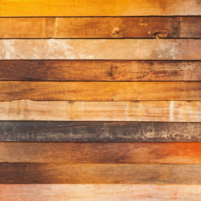 布朗木纹理背景 免版税图库摄影