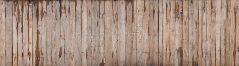 布朗木色的板条墙壁纹理背景 图库摄影