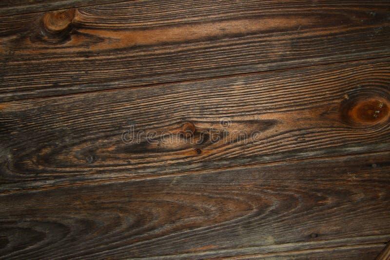 布朗木头结构 图库摄影