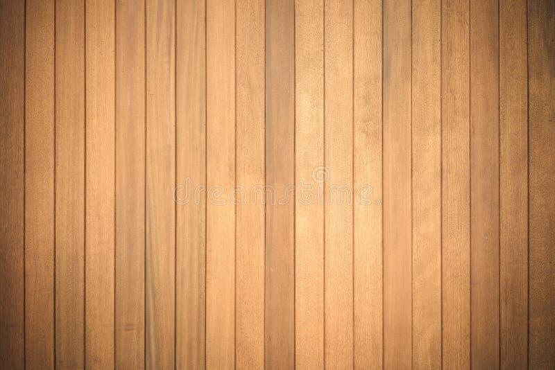 布朗板条木墙壁背景 图库摄影