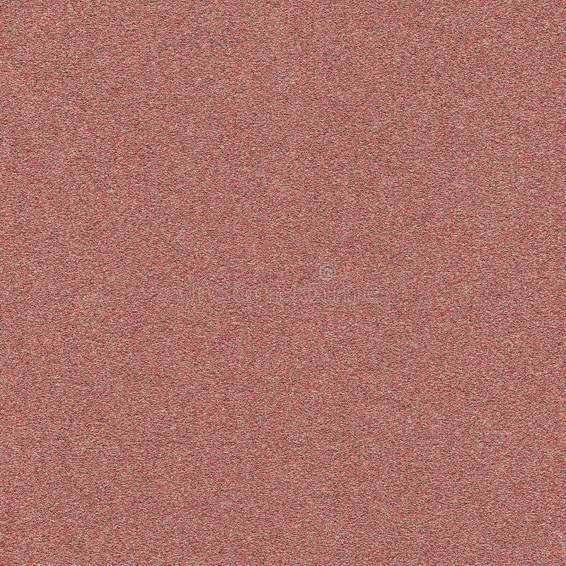 布朗沙纸背景 免版税库存图片