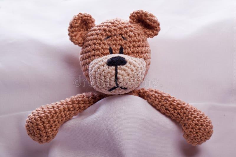 布朗玩具熊 免版税图库摄影