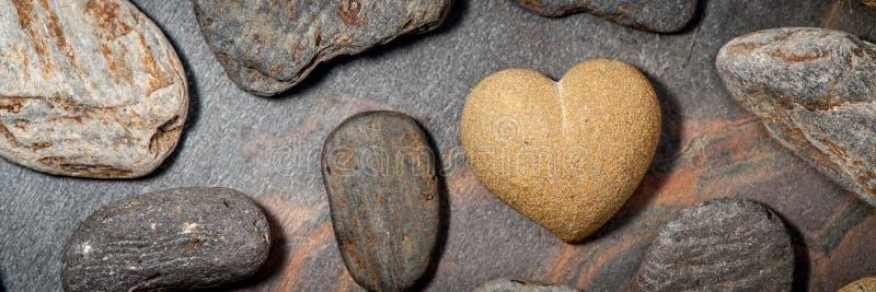 布朗砂岩心脏 免版税库存照片