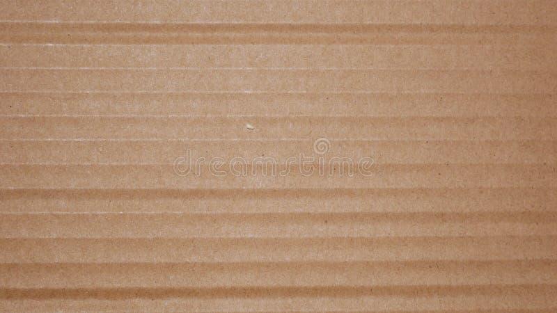 布朗纸板纸纹理背景 库存照片