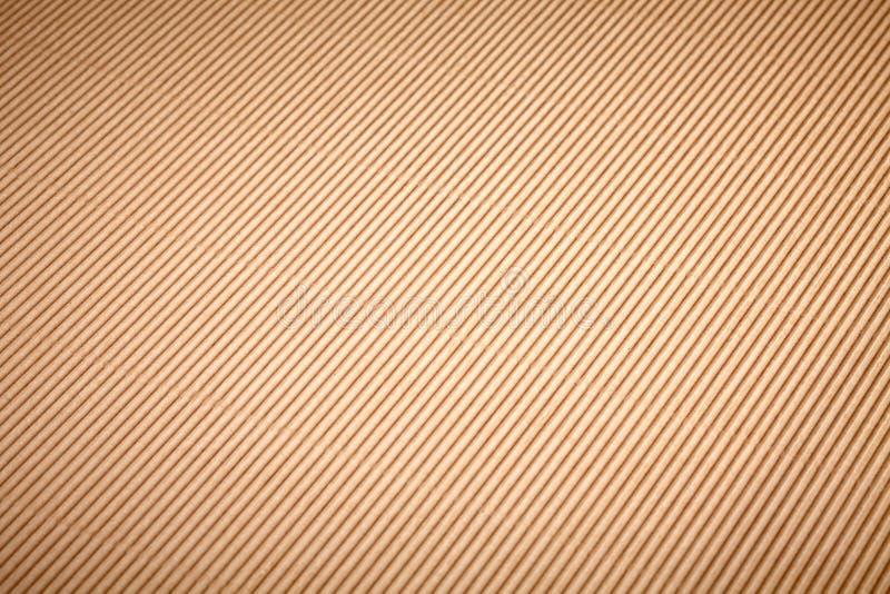 布朗纸盒纸背景 免版税库存图片