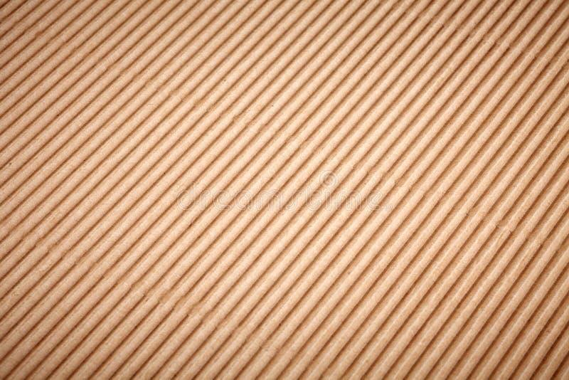 布朗纸盒纸背景 免版税库存照片