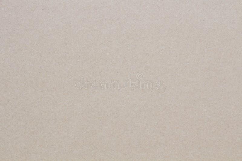 布朗纹理使纸成波状,背景的 免版税库存图片