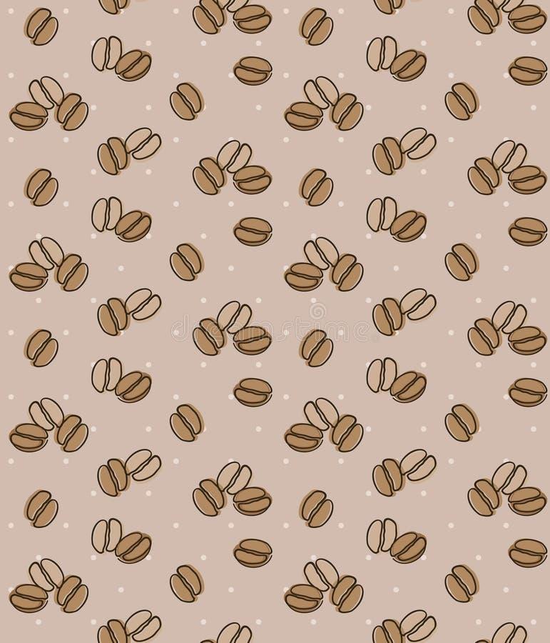 Download 布朗背景用咖啡豆 无缝的背景 库存例证. 插画 包括有 上等咖啡, 咖啡, 热奶咖啡, 制动手, 浓咖啡 - 62530437