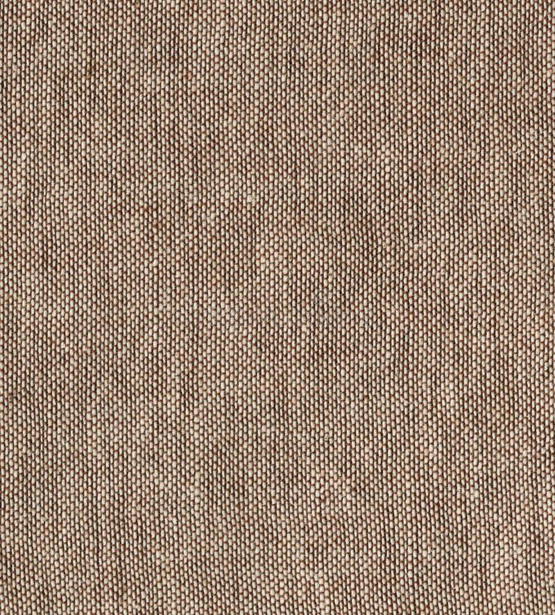 布朗自然简单的粗糙的亚麻制织品-帆布 布朗粗麻布织品背景纹理 免版税库存图片