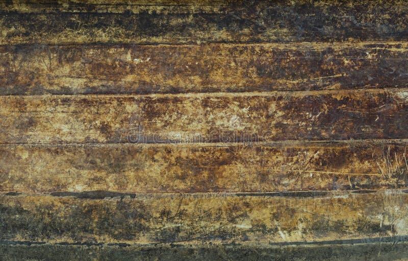 布朗难看的东西墙壁 库存照片