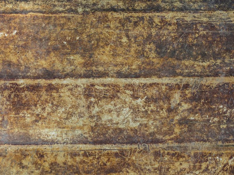 布朗难看的东西墙壁 免版税库存照片
