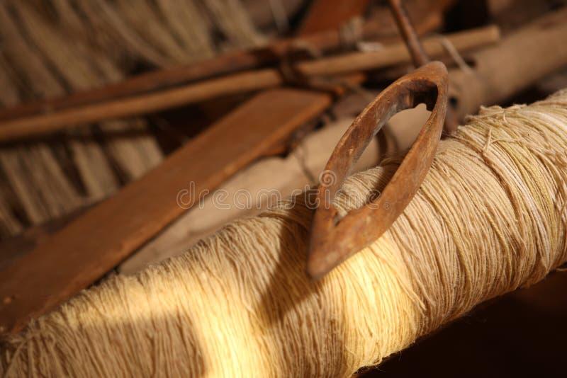 织布机 库存照片