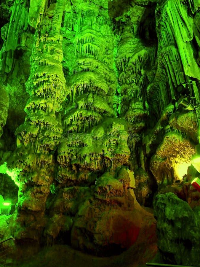 直布罗陀,圣Michaels洞 库存图片