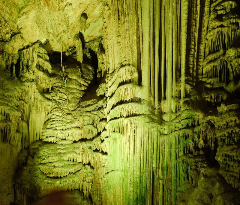 直布罗陀,圣Michaels洞 库存照片