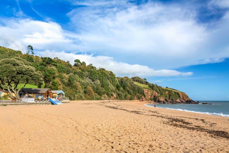 布莱克浦海滩 免版税库存图片