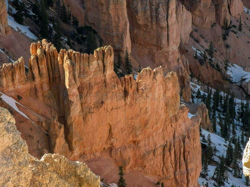 布莱斯峡谷不祥在启发点在犹他 图库摄影