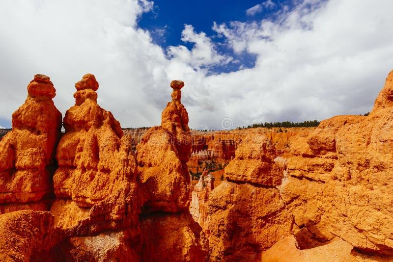 布莱斯峡谷国家公园,犹他,美国 库存图片