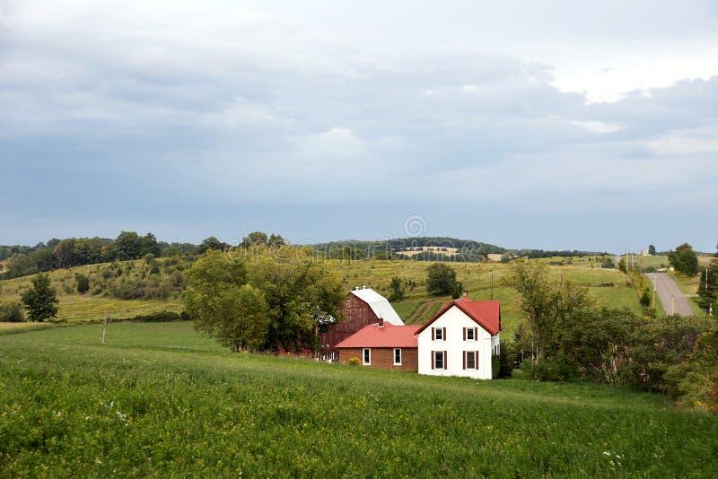 布赖顿宅基农村的安大略 库存照片