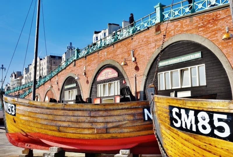 布赖顿捕鱼博物馆 免版税库存照片