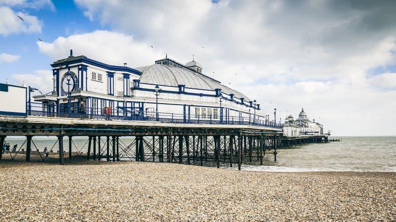 布赖顿码头 免版税库存照片