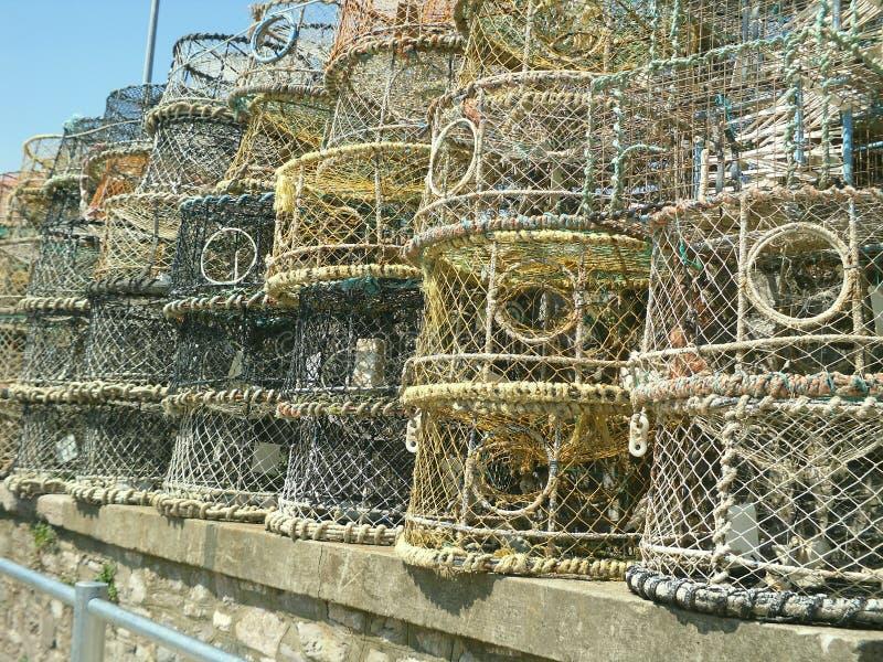 布赖顿虾笼 图库摄影