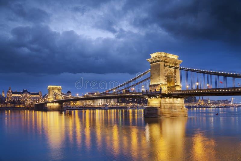 布达佩斯。 免版税库存图片