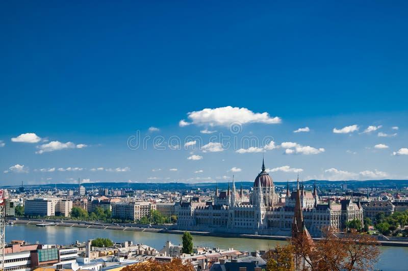 布达佩斯全景 库存照片