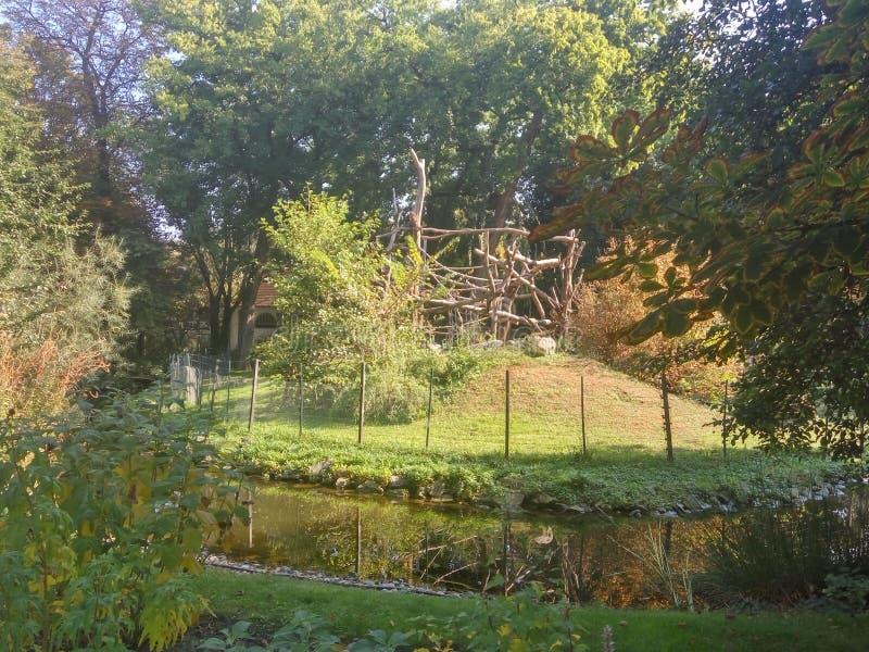 布达佩斯动物园照片 库存照片