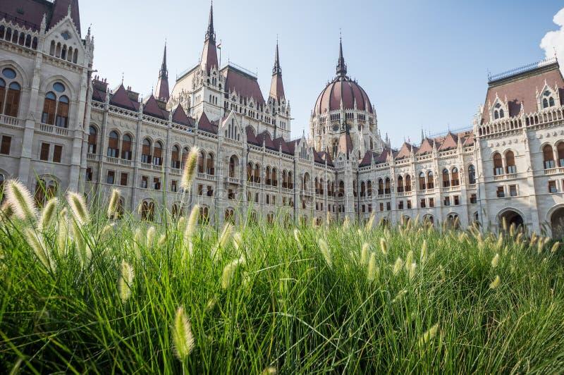 布达佩斯匈牙利议会 图库摄影