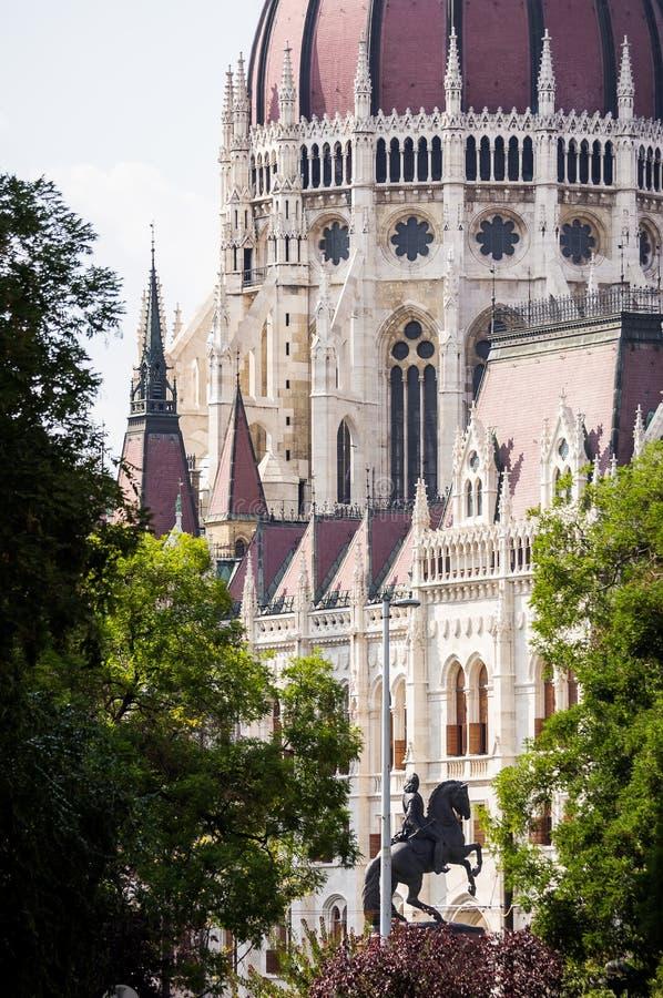 布达佩斯匈牙利议会 免版税库存照片