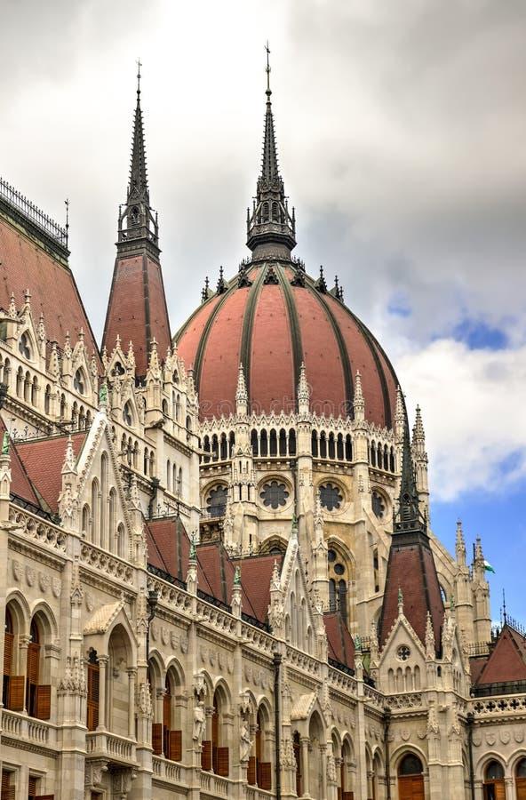 布达佩斯匈牙利议会 免版税库存图片