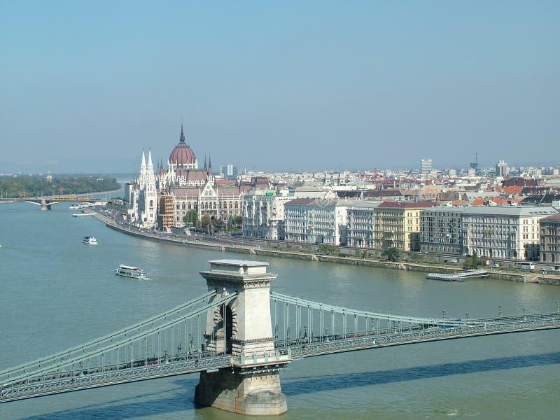 布达佩斯多瑙河 免版税库存图片