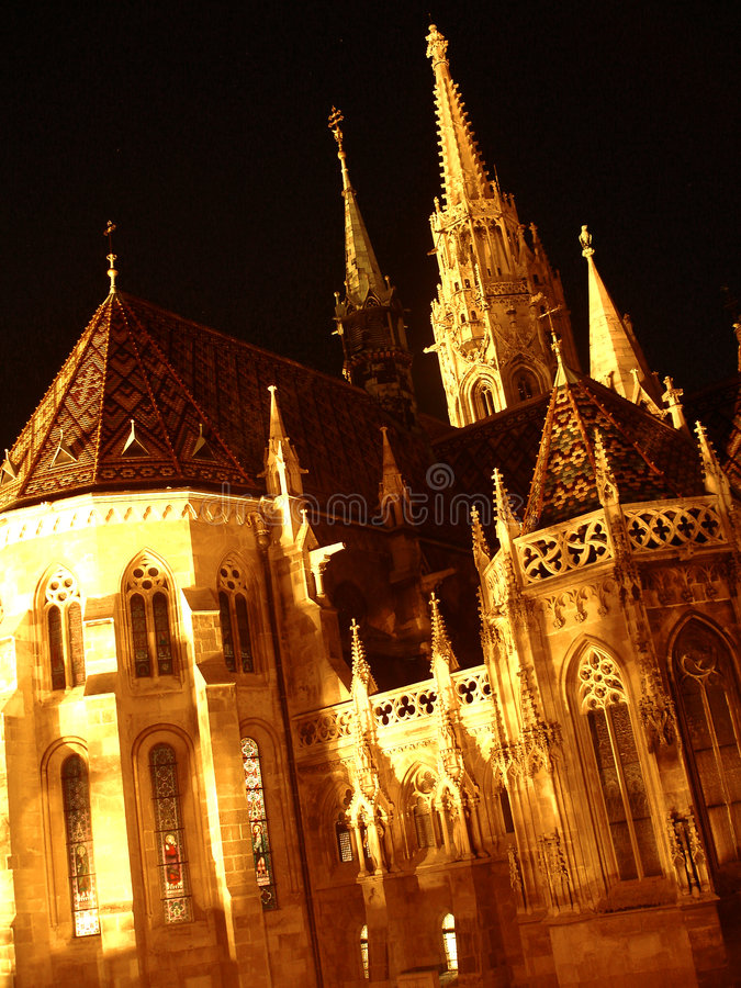 布达佩斯大教堂 库存图片