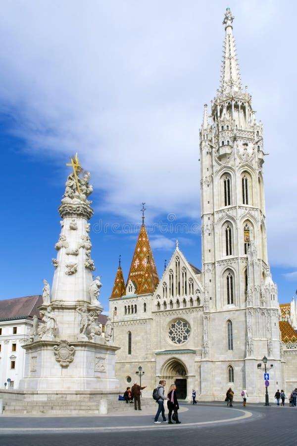 布达佩斯教会马赛厄斯 库存照片