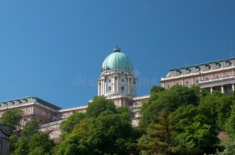 布达佩斯皇宫 图库摄影