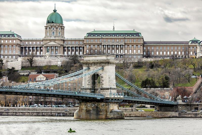 布达佩斯皇家城堡 库存图片