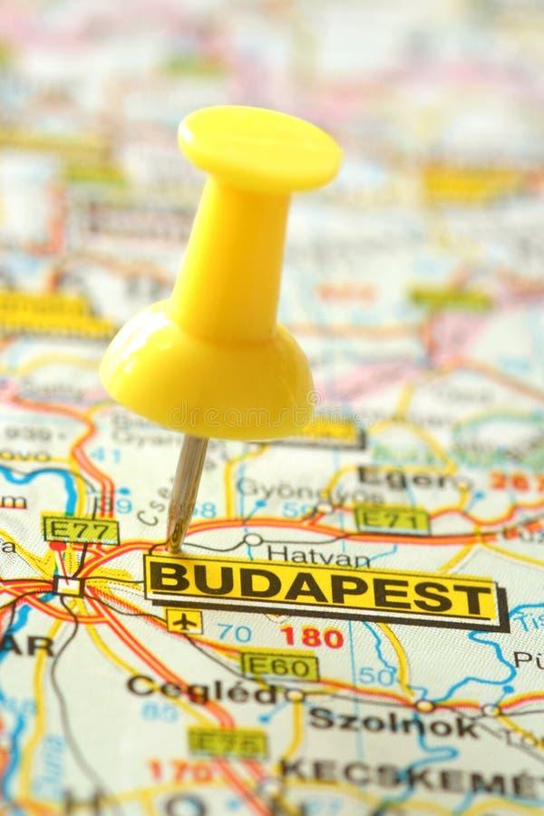 布达佩斯目的地 库存照片