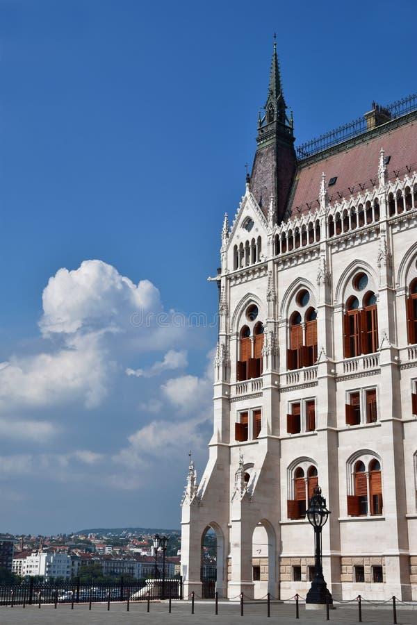 布达佩斯议会大厦 图库摄影