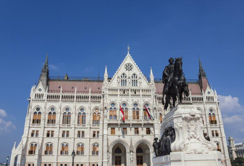 布达佩斯议会大厦 免版税库存图片