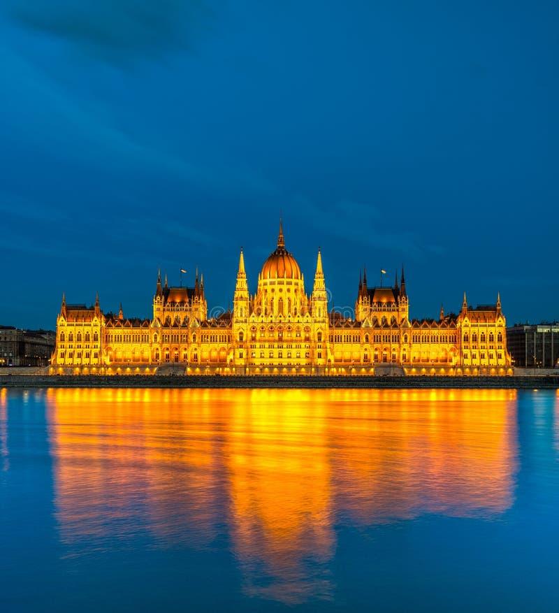 布达佩斯议会,布达佩斯,匈牙利 免版税库存图片