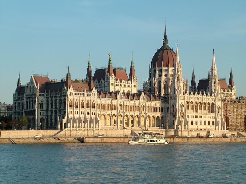 布达佩斯议会 免版税库存照片