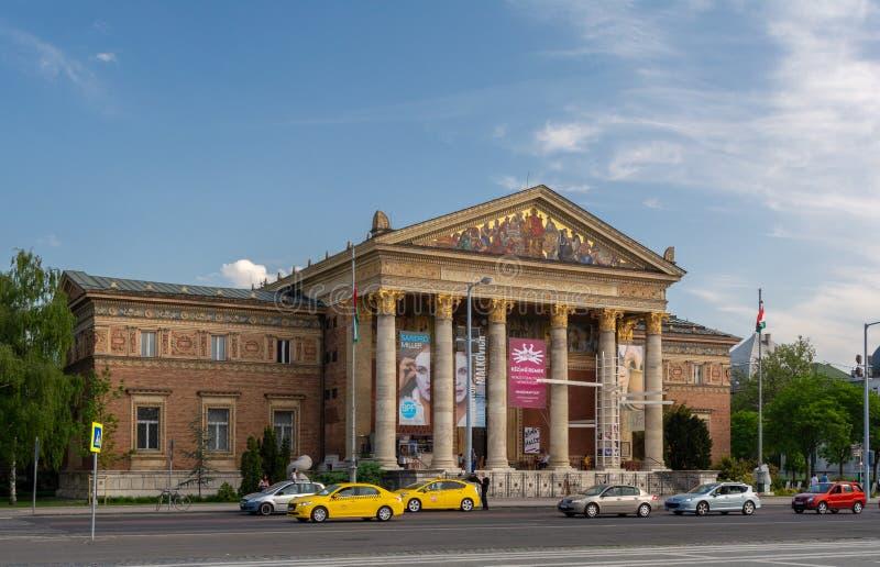 布达佩斯,匈牙利,2018年7月10日:匈牙利国家博物馆是为历史、艺术和考古学 匈牙利语 库存照片